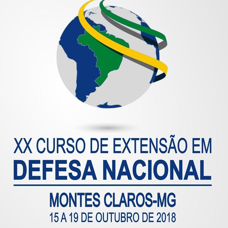 XX Curso de Extensão em Defesa Nacional
