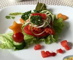 raw foodハンバーグ風