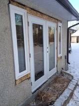 Window and door install