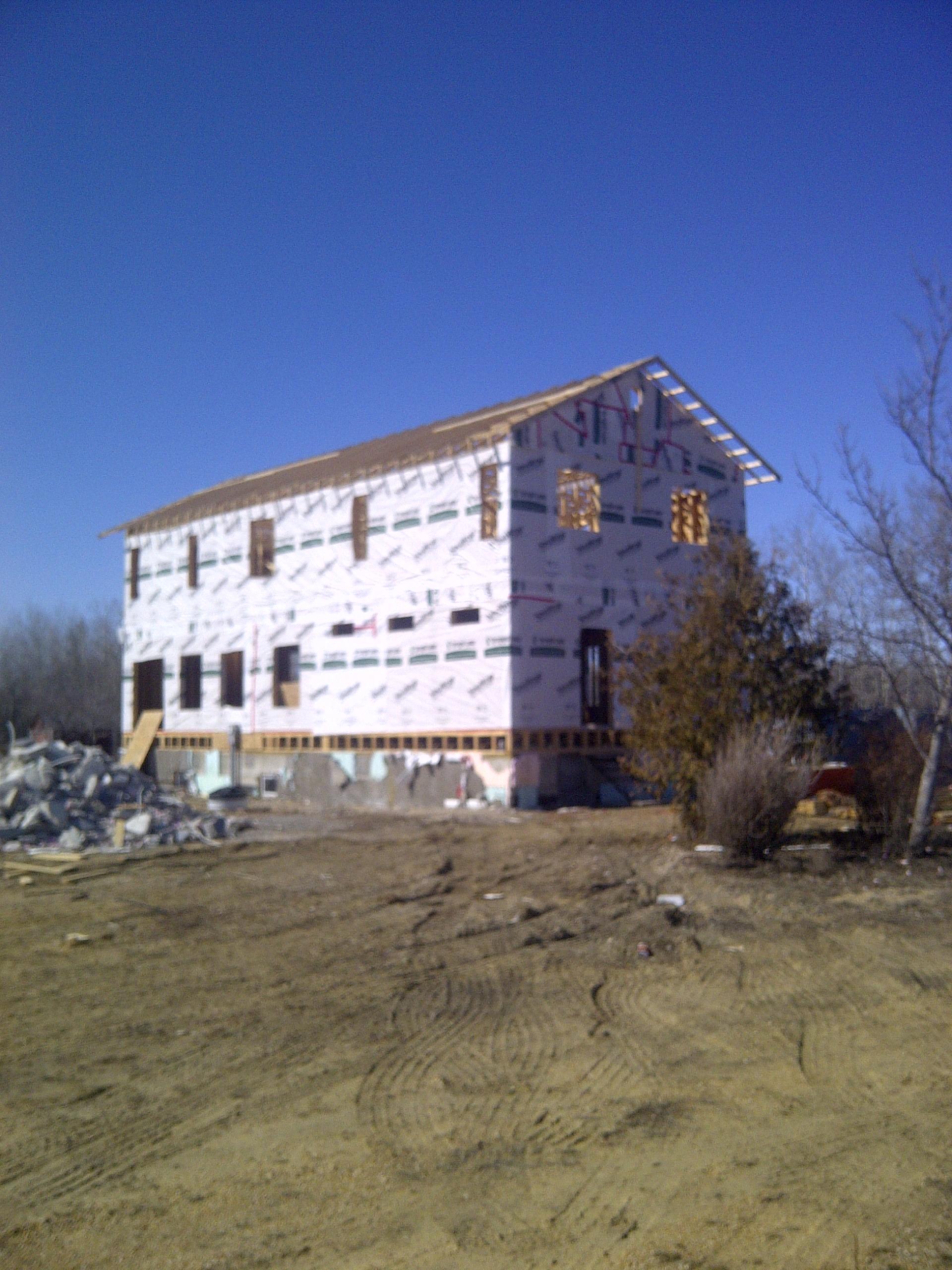 New build (Selkirk)