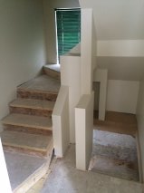 Custom stairs to basement/ loft