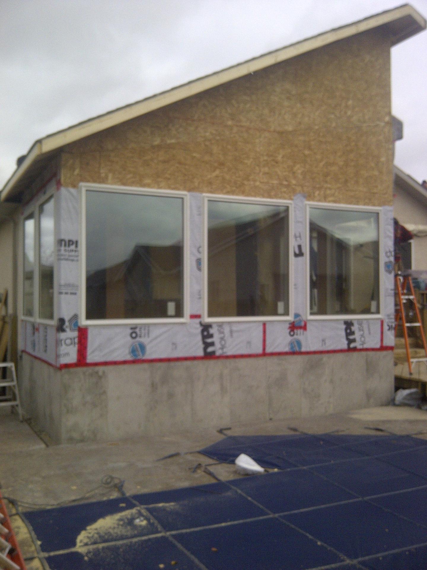 New window install addition