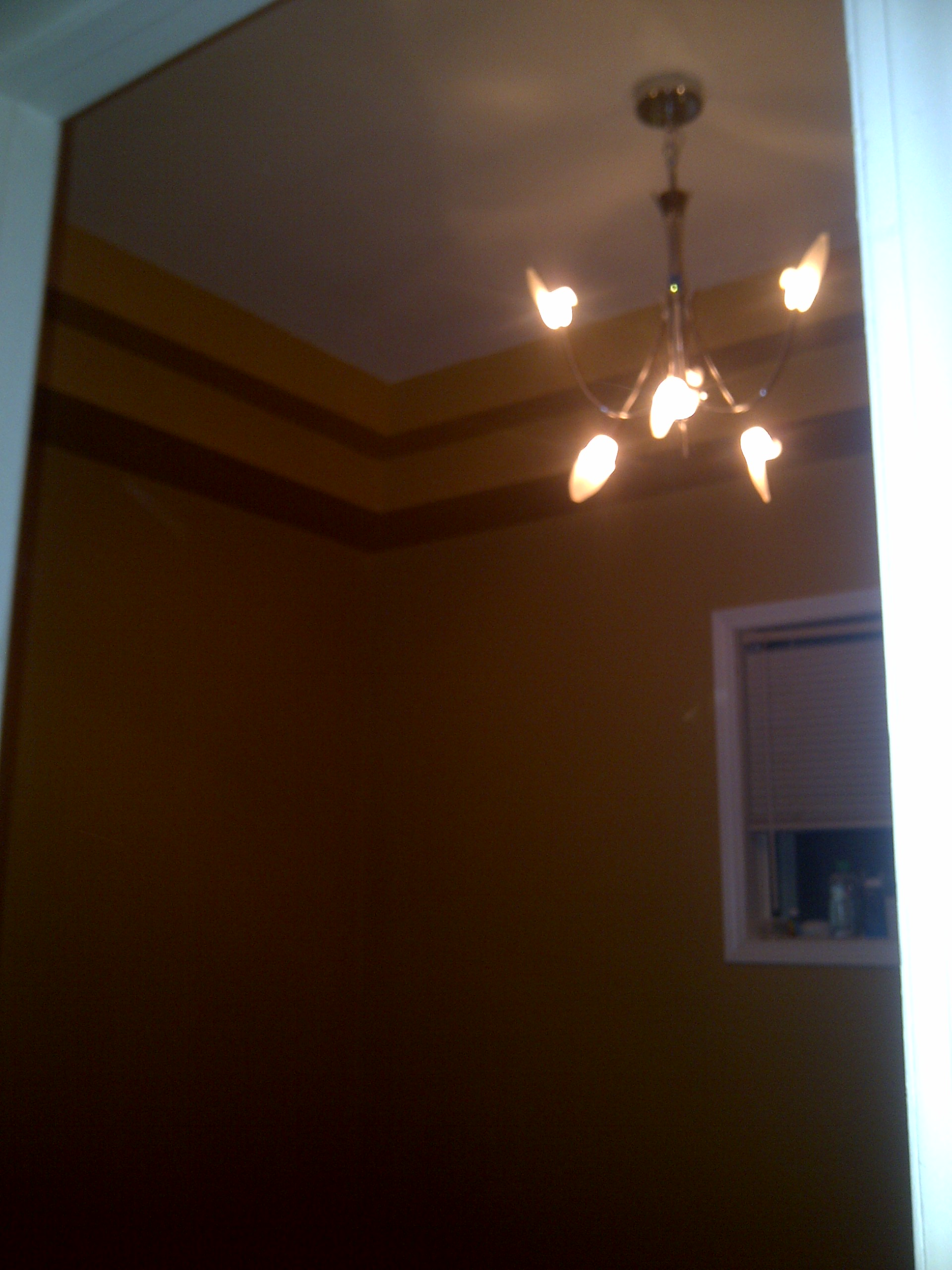 Custom bulkhead, wall painting