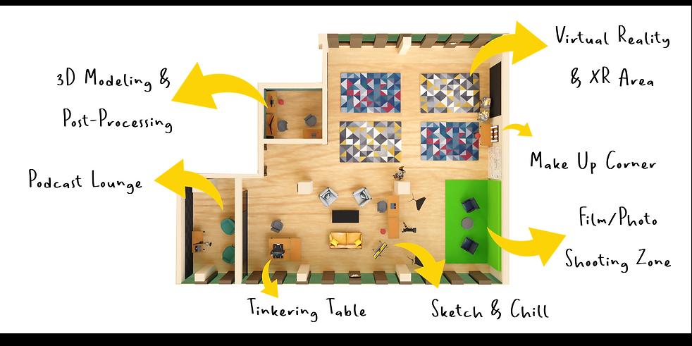 Innovation Space Layout - Floor Plan - weSpark - Spark Hub.png