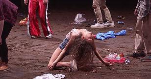 Marine Chesnais, danse, danseuse, danse contemporaine, crowd, gisele vienne