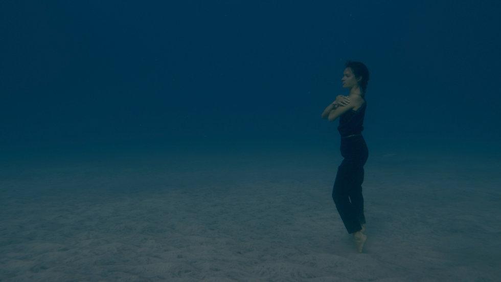 Marine Chesnais, habiter le seuil, danse, apnée, danse bio inspirée, bio inspiration, grand bleu, océan, mer, one breath