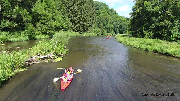 chiny-descente de la semois-kayak-activi