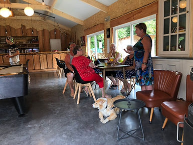 Réception du camping Alaska de Marbehan en Ardennes.