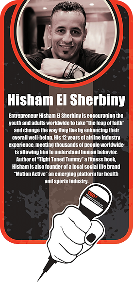 Hisham EL Sherbiny TEDx talk brief