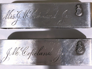 A Tale of Two Napkin Rings...