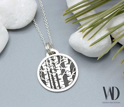 Aspen Tree Grove Necklace
