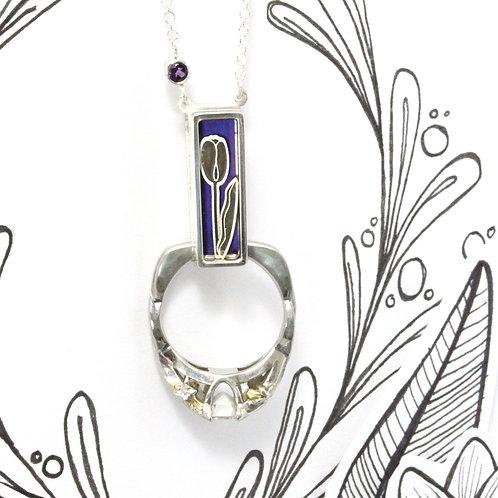 Tulip Ring Holder Pendant