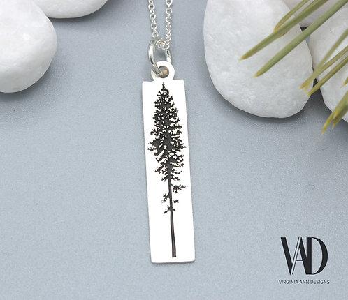 Lodgepole Pine Tree Pendant