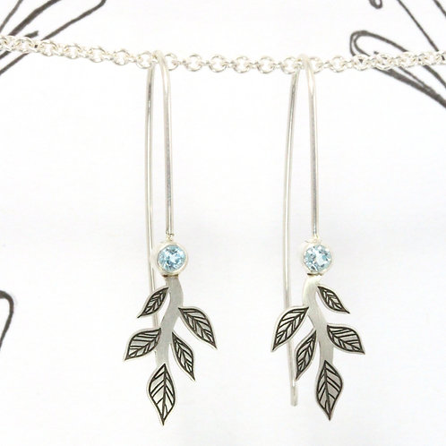 Sparkling Branch Earrings