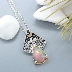 Opal wilderness pendant 1