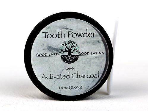 Tooth Powder with Activated Charcoal