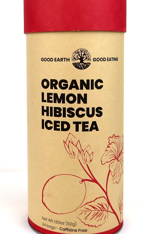 Organi Lemon Hibiscus Iced Tea