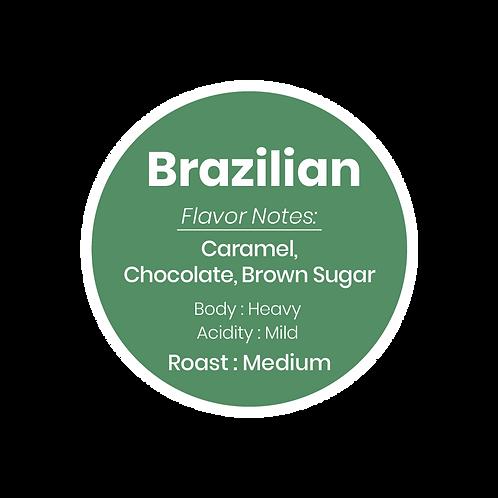 Organic Brazilian Coffee Ground