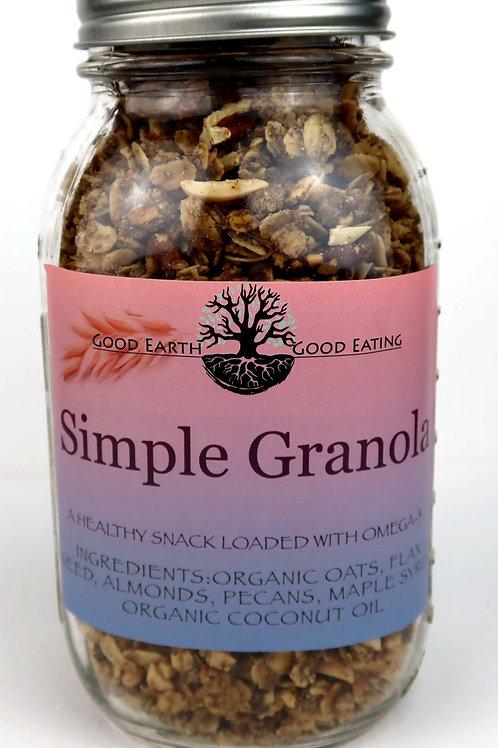 Simple Granola 1 Quart Jar