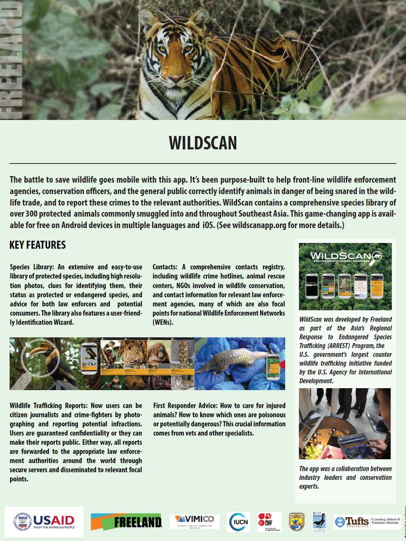 WildScan flyer