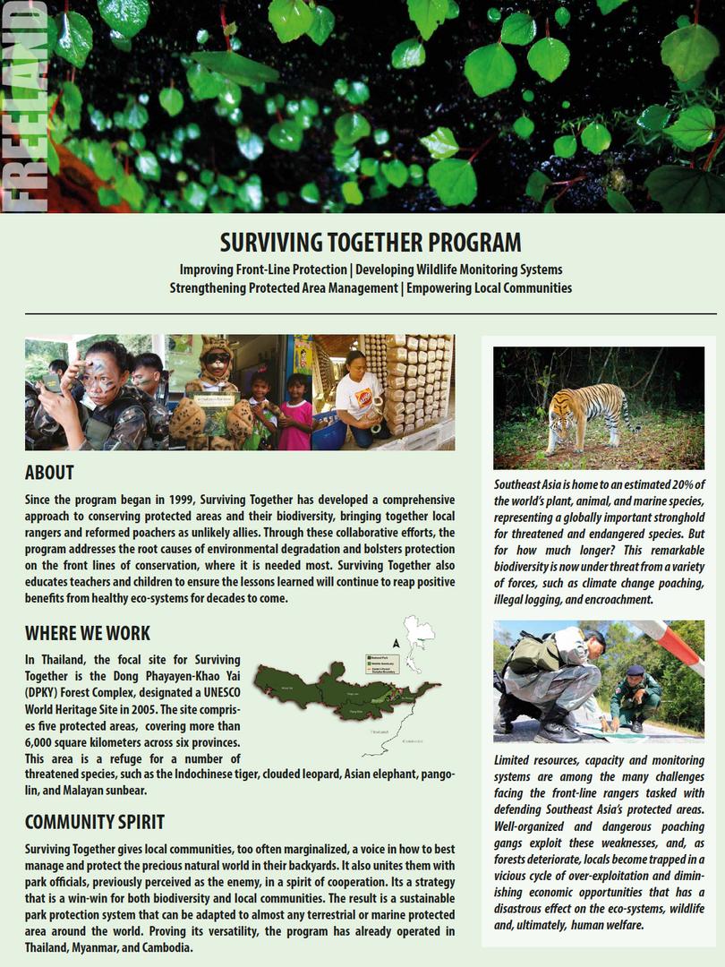 Surviving Together flyer