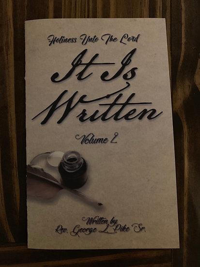 It is Written (vol. 2)