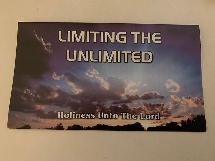 Limiting the Unlimited