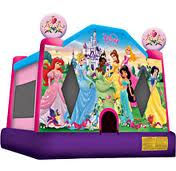 #12 Princess bounce house