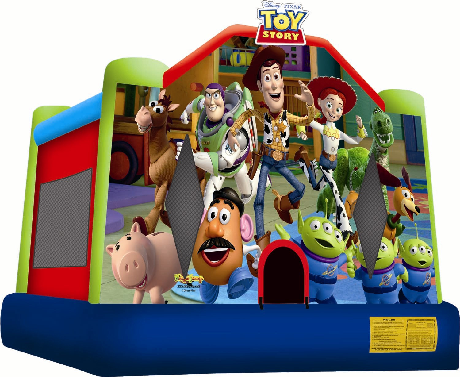 #5 Toy Story bounce house