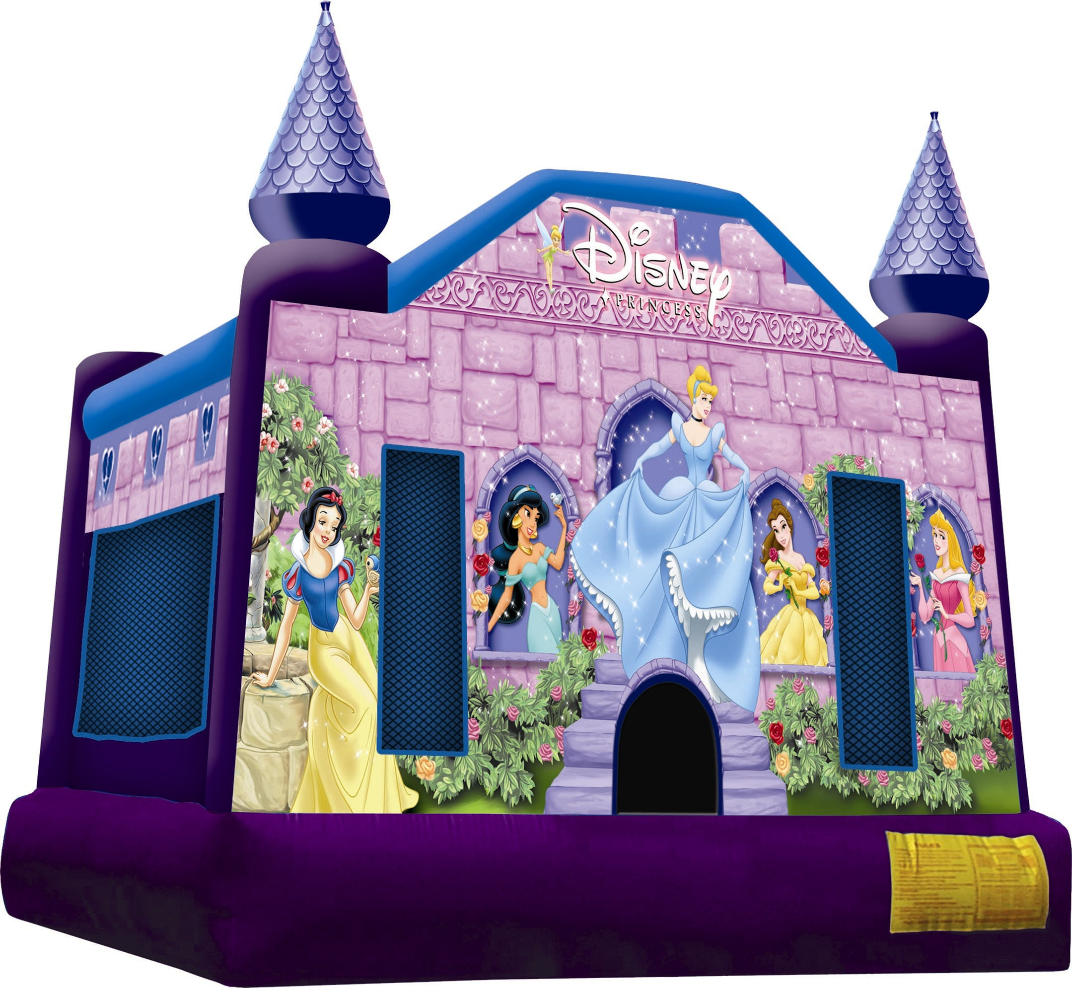 #6 Princess bounce house