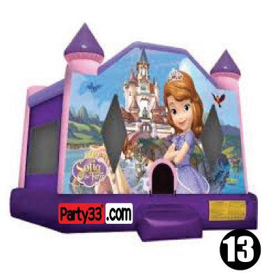#13 Sophia bounce house