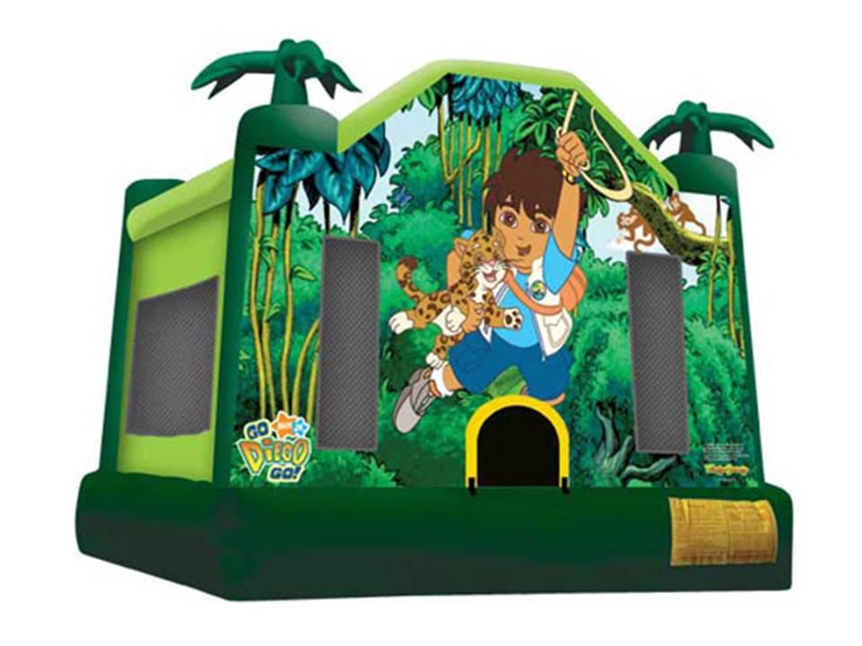 #8 Diego bounce house