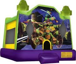 #11 Ninja Turtles bounce house