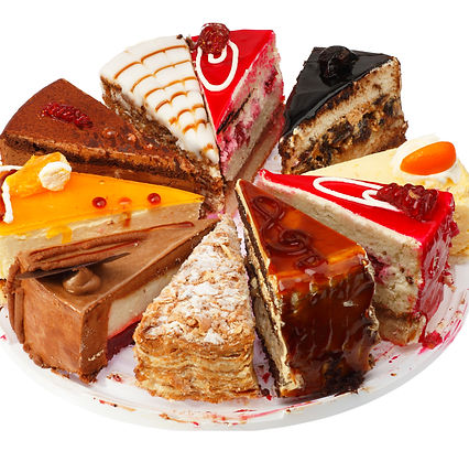 cake slices for delivery or carryout