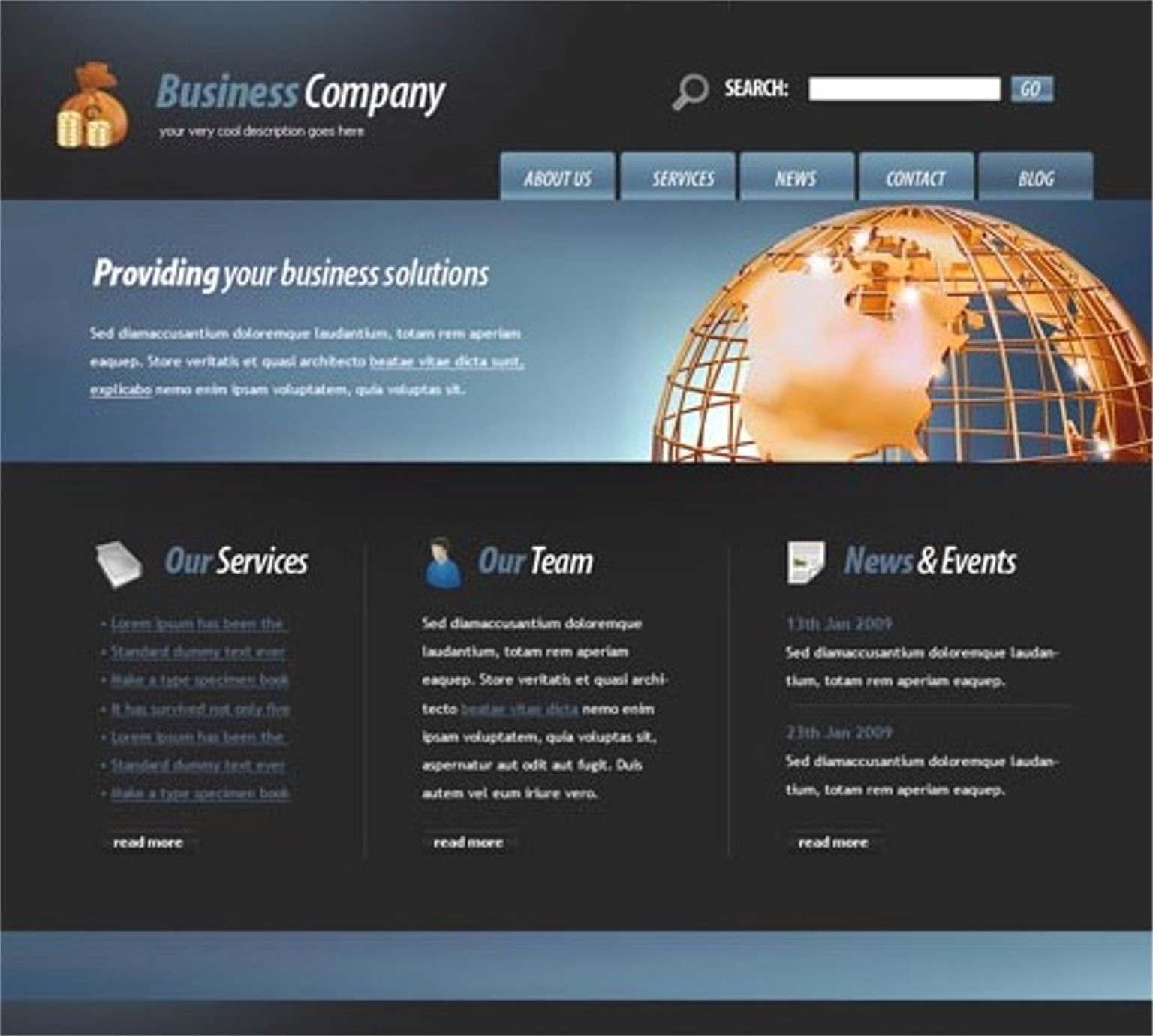 JRL-Enterprises LLC Web Templates10110