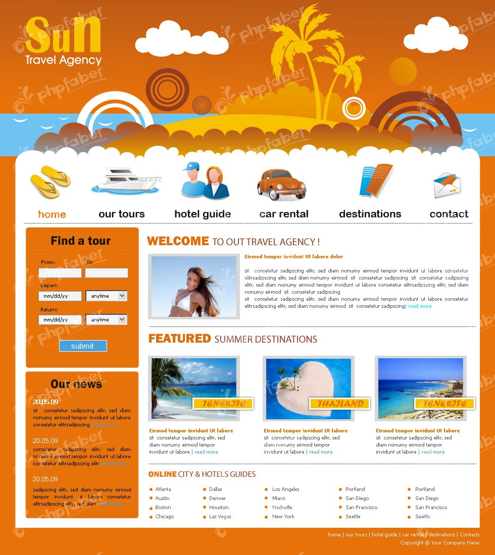 JRL-Enterprises LLC Web Templates10149