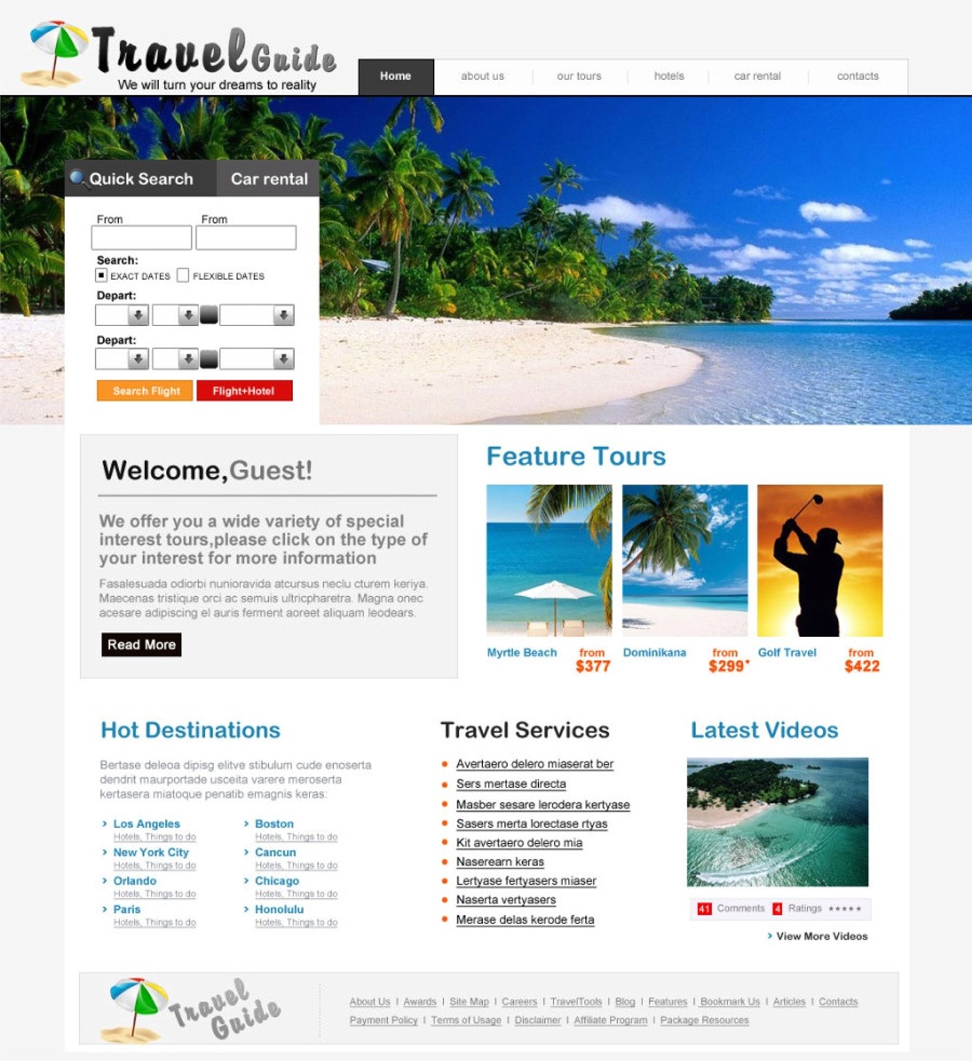 JRL-Enterprises LLC Web Templates10120