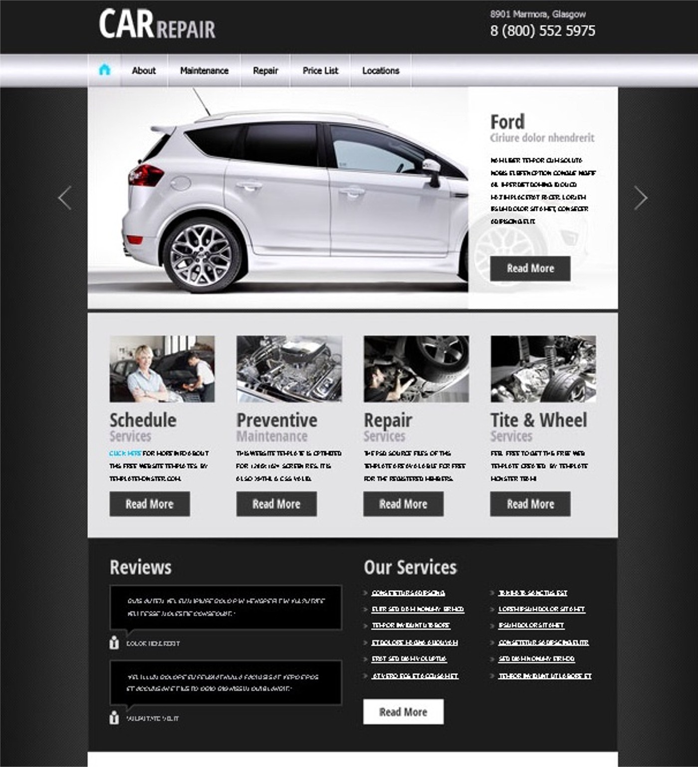 JRL-Enterprises LLC Web Templates10108