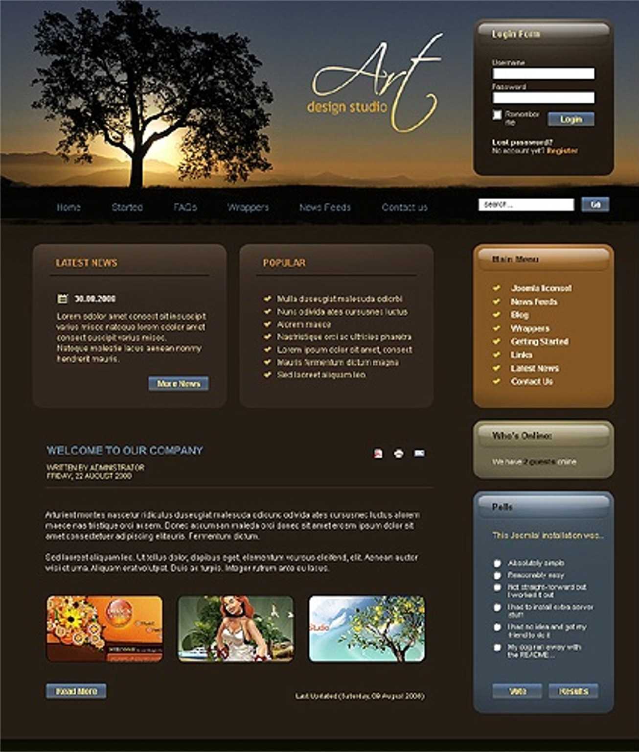 JRL-Enterprises LLC Web Templates10117