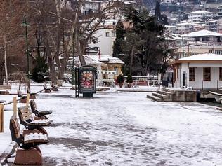عودة تساقط الثلوج في اسطنبول بعد غياب 4 سنوات