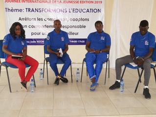 """""""SaCoDé célèbre la Journée internationale de la jeunesse 2019, en Mairie de Bujumbura avec les jeune"""