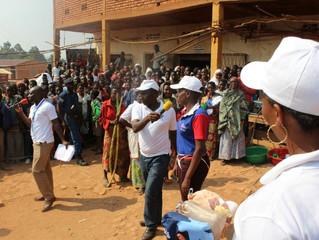 SaCodé a participé dans la caravane AGASHI à Kayanza