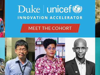 SaCoDé Awarded Place in Inaugural Cohort of Duke-UNICEF Innovation Accelerator