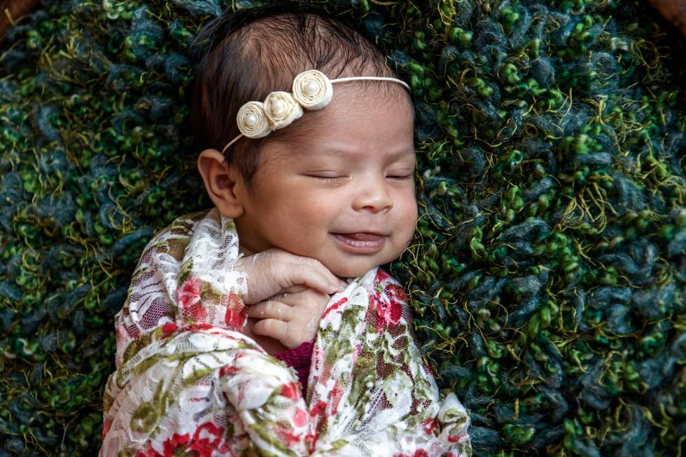 Newborn Happy baby