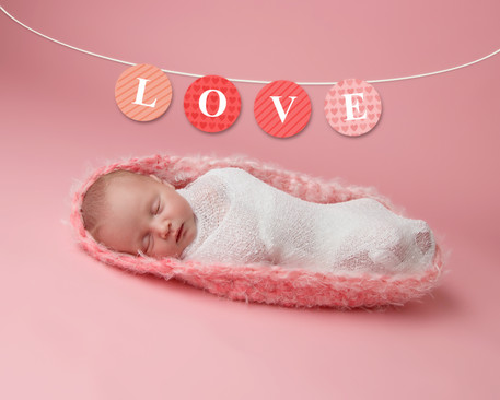 Newborn baby girl by Granbury Photographer