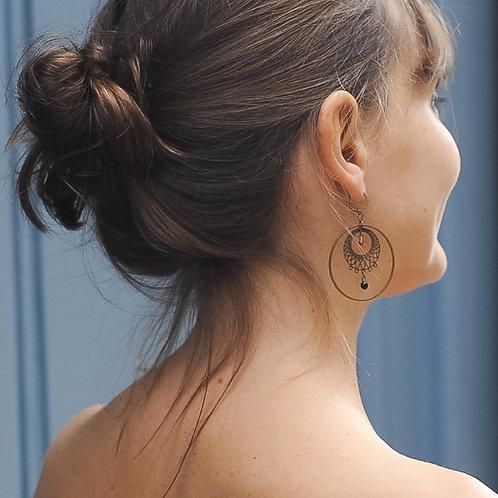 Boucles d'oreilles ORIENT