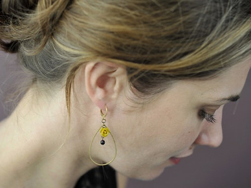 Boucles d'oreilles BERNADETTE