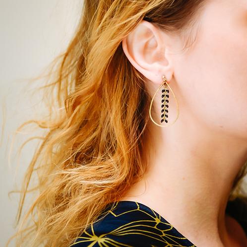 Boucles d'oreilles  PERSEPHONE