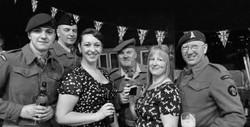 Haworth 1940s weekend, 2014