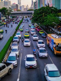 Traffic, MBK Center, Thailand